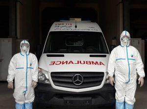 رانندگان وسایل نقلیه ویژه انتقال بیماران و اجساد کرونایی