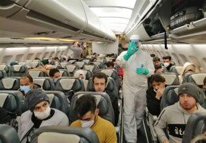 پیشگیری از شیوع کرونا در سفرهای هوایی توسط کادر پرواز