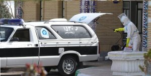 گندزدایی وسایل نقلیه ویژه انتقال بیماران و اجساد کرونایی