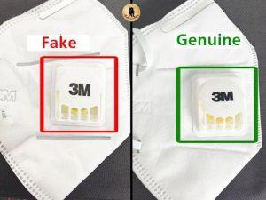 ماسک تنفسی 3M اصلی و تقلبی