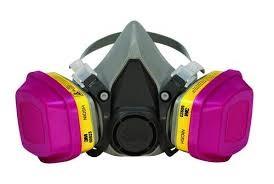 ماسک های تنفسی نیم صورت کارتریج دار