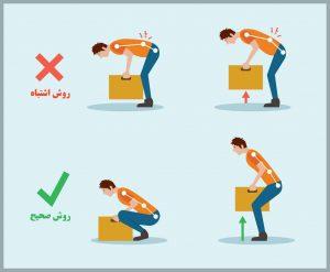 مشکلات اسکلتی عضلانی در خانه تکانی