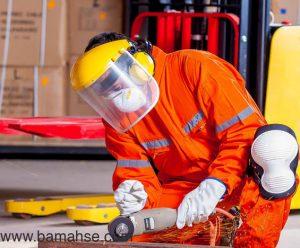 استفاده از گوشی ایمنی در محیط های صنعتی