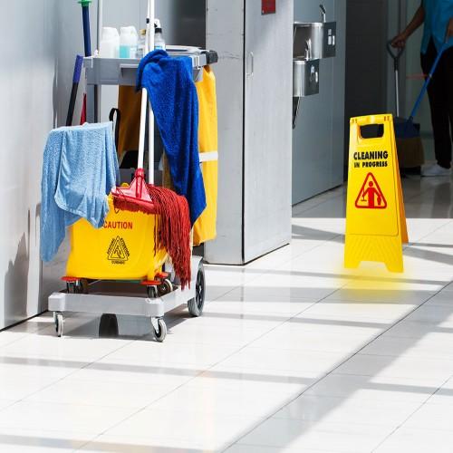 لوگو شرکت خدمات نظافتی پاکی تاپ