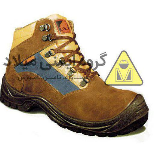 کفش ایمنی چرم مدل 3010