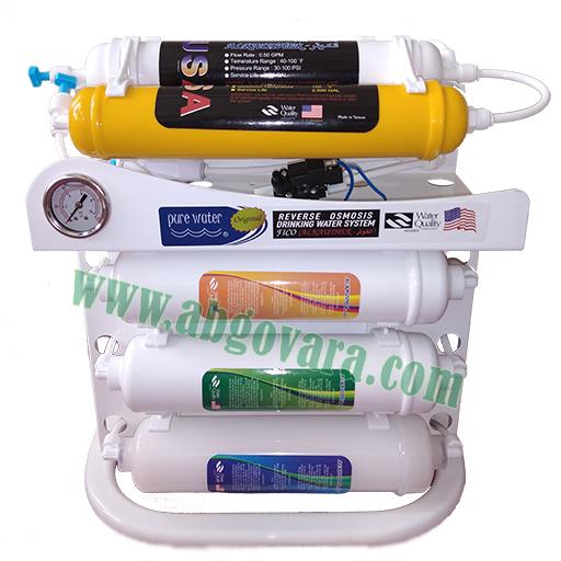 دستگاه 6 مرحله ای تصفیه آب خانگی