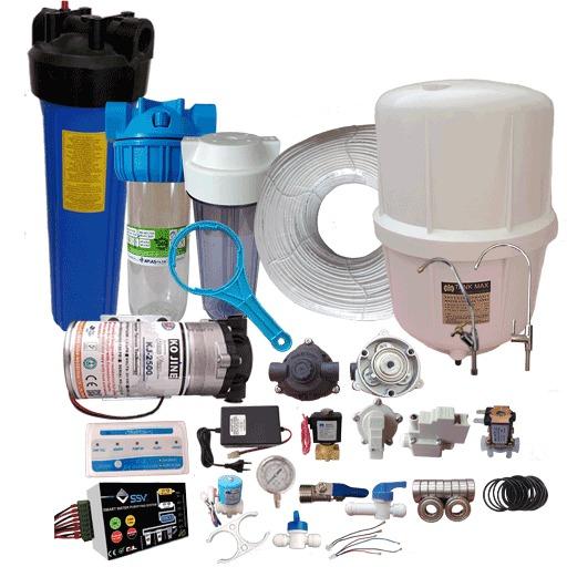 قطعات دستگاه تصفیه آب خانگی، نیمه صنعتی
