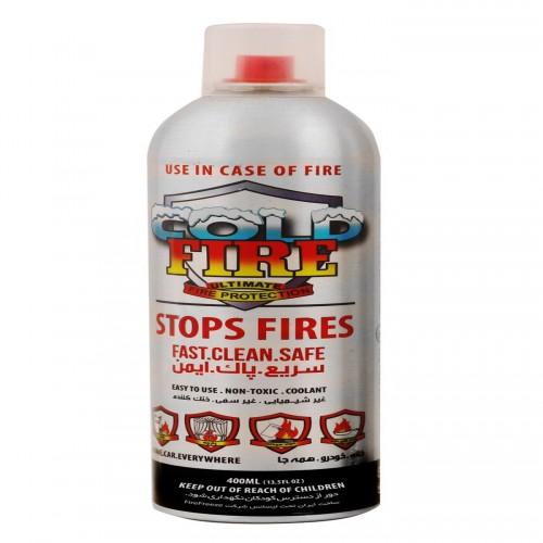 بنر اسپری خاموش کننده آتش ( Cold Fire)