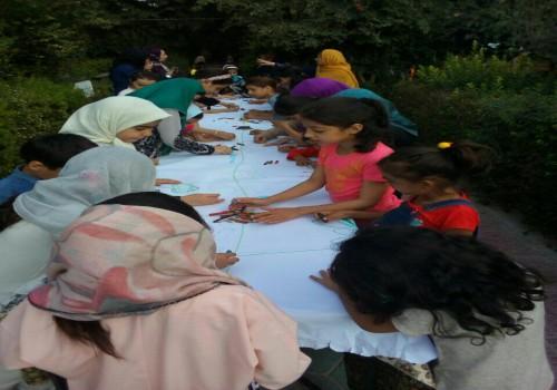 لوگو مؤسسه بانوان حامی محیط زیست شهری و روستایی کویر یزد