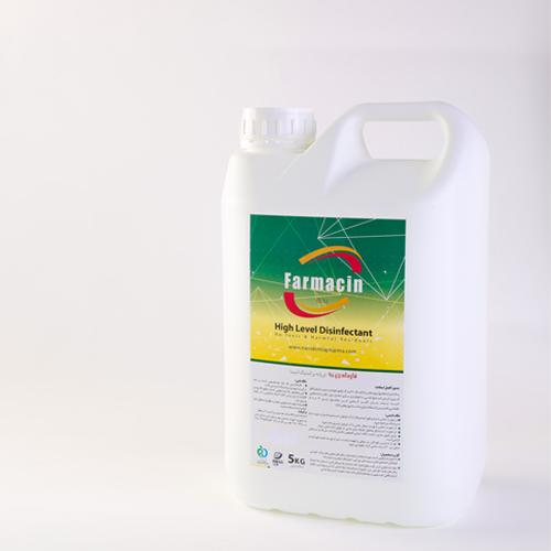 محلول ضدعفونی کننده سطوح 5 درصد- 5 لیتری